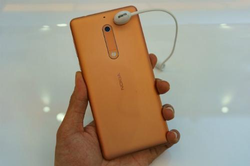 Mẫu Nokia Android 7.0 giá hơn 4 triệu đồng.