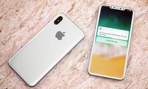 iPhone 8 màu trắng đẹp mắt qua loạt ảnh dựng