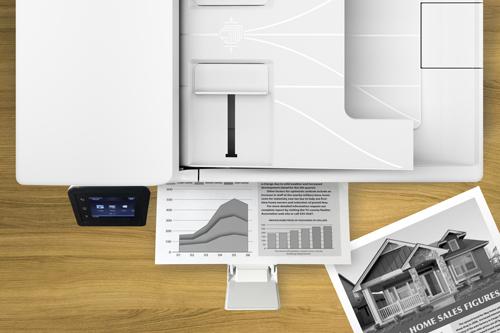 Tiết kiệm chi phí  Công nghệ JetIntelligence tăng số lượng bản in trên mỗi hộp mực, tiết kiệm điện năng và thời gian nhờ thành phần hạt mực in đen chính xác (precision black toner) cho phép in nhanh và sử dụng ít năng lượng hơn. Đây là công nghệ giúp cho ra bản in, hình ảnh đồ họa rõ ràng, đậm và sắc nét.  Hộp mực HP dễ thay thế với tính năng gỡ seal tự động, đóng gói gọn nhẹ, giúp người dùng có thể tự mình thay mực hay lắp đặt máy.