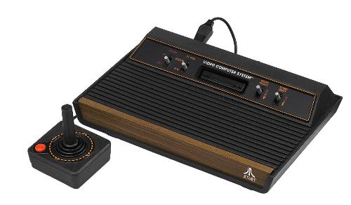 Mẫu máy Atari 2600 từng rất nổi tiếng thập niên 80.