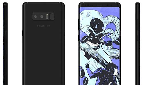Galaxy Note 8 sẽ trông giống Galaxy S8
