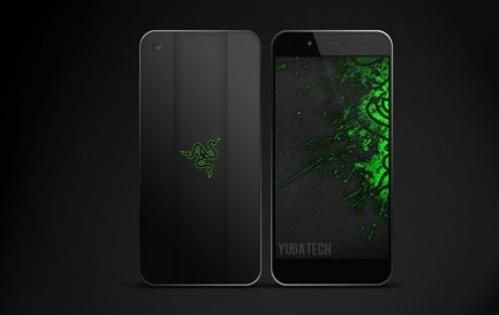 Một mẫu concept về smartphone Razer.