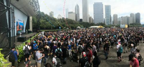Hàng chục ngàn người đã tham dự Pokemon Go Fest.