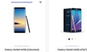 Galaxy Note 8 xuất hiện trên trang chủ của Samsung