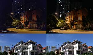 Ảnh chụp thử từ Galaxy J7 Pro và Nokia 6