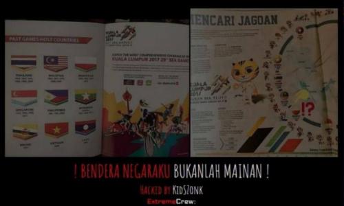 27 website Malaysia bị hack sau sự cố ở SEA Games