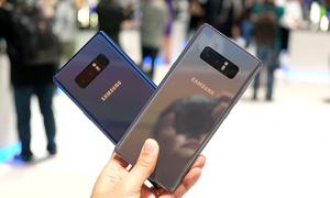 Trải nghiệm nhanh Galaxy Note 8
