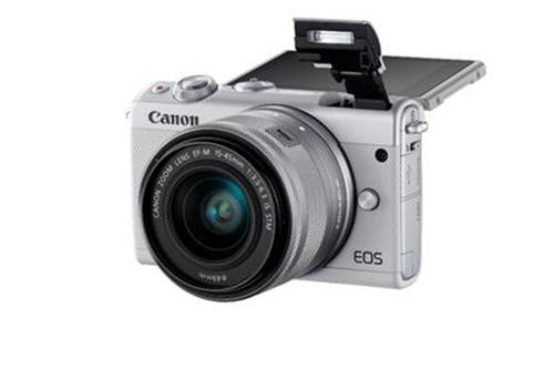 Khách tham dự sự kiện có cơ hội trúng thưởng máy ảnh Canon EOS M100.