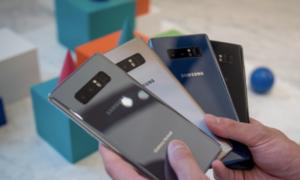 10 smartphone bán chạy nhất tháng 9/2017