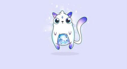 Chân dung con mèo ảo đắt nhất từng được bán ra Genesis.