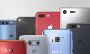 10 smartphone bán chạy nhất tháng 11/2017