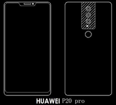 Điện thoại Huawei dùng tới ba camera ở mặt sau - 2