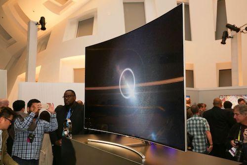 Dòng TV từ 75 inch trở lên có tốc độ tăng trưởng tốt.