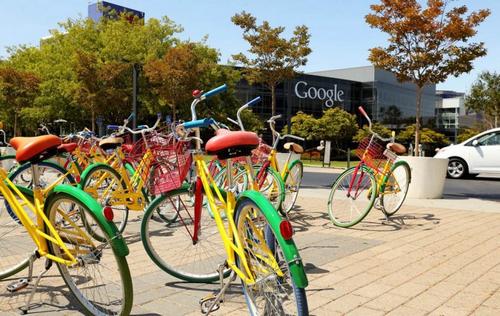 Xep đạp của Google thường xuyên bị mất cắp.