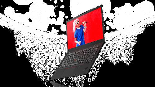 X1 Carbon với thiết kế nhỏ gọn.