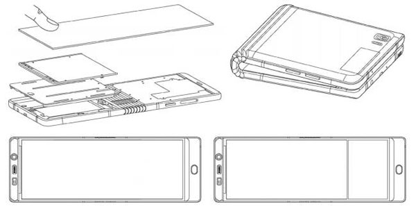 Galaxy X màn hình gập bị lộ thiết kế - 1