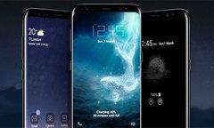 Ý tưởng Galaxy S9 màn hình tràn ba cạnh