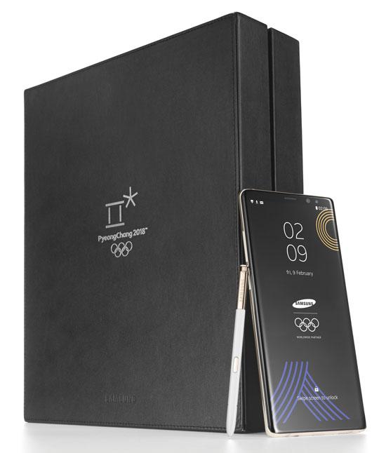 Galaxy Note 8 ra phiên bản Thế vận hội mùa đông - 1