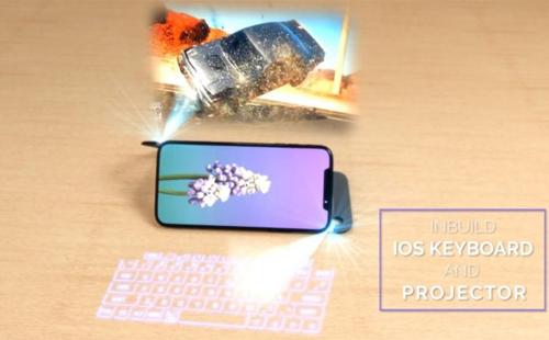 Ý tưởng iPhone XI hỗ trợ công nghệ 3D hologram - 1