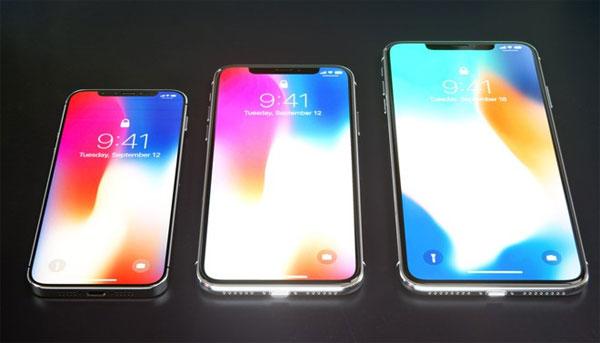 Sự khác nhau giữa bộ ba iPhone 2018