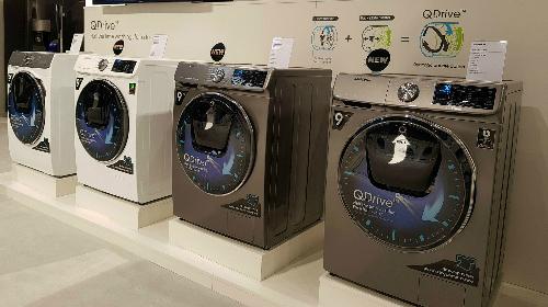 Các dòng máy giặt công nghệ QuickDrive sẽ ra mắt thị trường năm nay của Samsung.