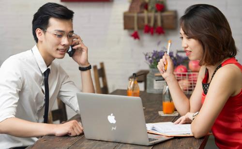 Sử dụng mạng di động giúp dân văn phòng chủ động thời gian và địa điểm làm việc khi không thể có mặt tại văn phòng.