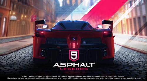Asphalt 9 hứa hẹn sẽ sớm ra mắt trong năm nay.