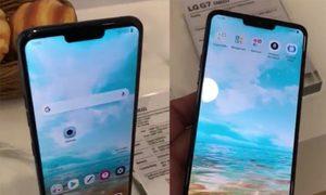 Lộ nguyên mẫu LG G7 có 'tai thỏ'