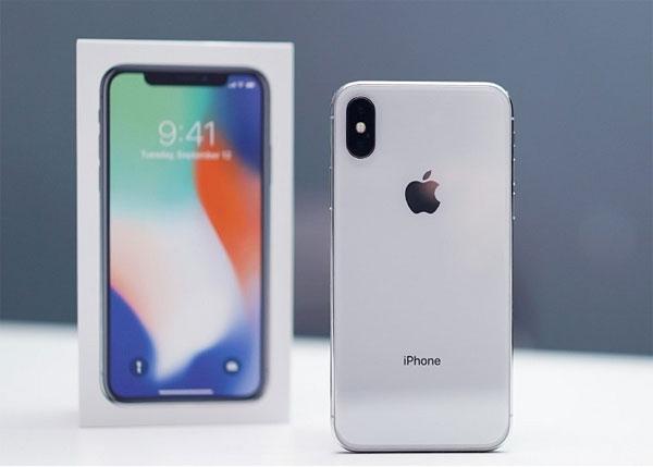 Giá iPhone X ở Việt Nam giảm nhẹ