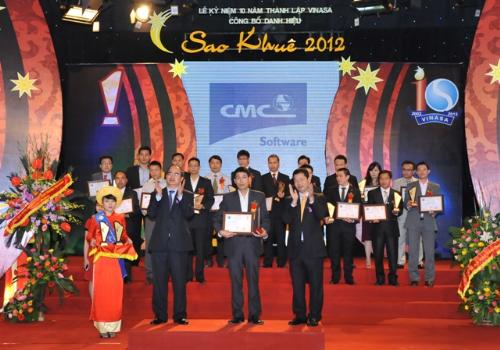 Phần mềm eDocman Plus nhận được giải thưởng Sao Khuê năm 2012