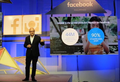 Dan Neary, phó chủ tịch Facebook toàn cầu. Ảnh: TechinAsia.