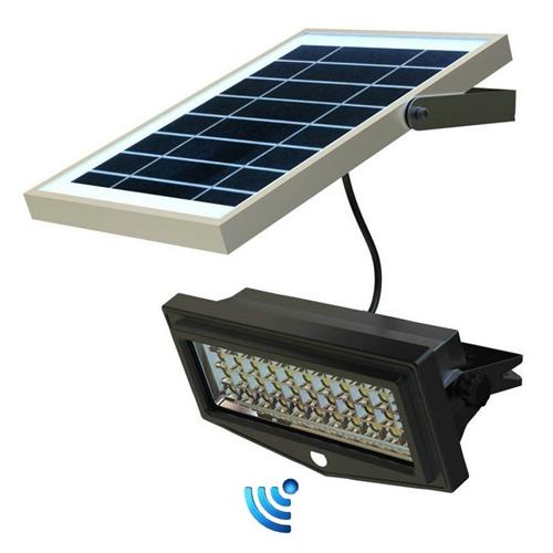 Một số đèn cảm biến tích hợp pin năng lượng mặt trời.