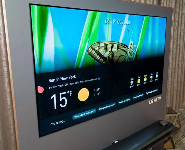 TV Oled LG năm 2018 có giá từ 3.000 USD
