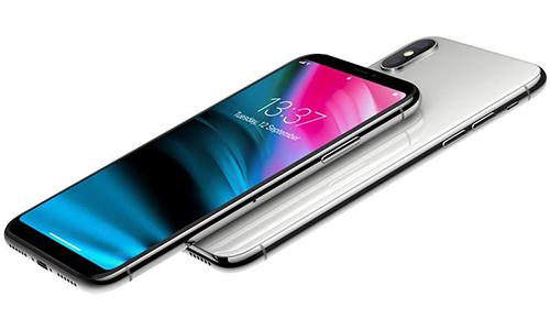Một concept iPhone màn hình tràn viền nhưng không có tai thỏ.