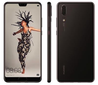 Huawei P20.