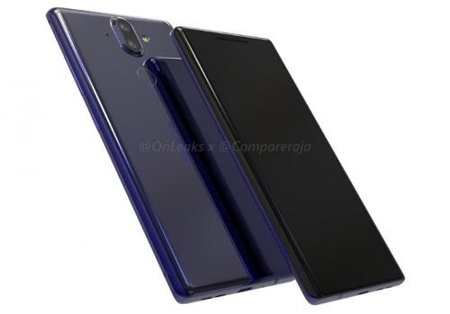 Nokia 9 có thể thay đổi thiết kế với cảm biến vân tay không nằm ở lưng mà chuyển về trước, ẩn dưới màn hình.
