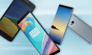 10 smartphone bán chạy nhất tháng 2/2018