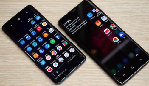 Samsung Galaxy S9 và S9+.