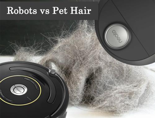 Robot hút bụi rất hiệu quả với nhà có nuôi chó mèo.
