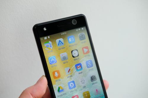 Màn hình cảm ứng nhạy và Android N giúp điện thoại của Asanzo hoạt động tốt dù cấu hình trung bình.
