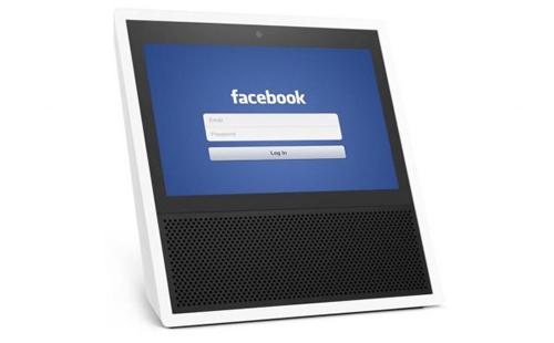 Loa Facebook sẽ có màn hình lớn như trên laptop. Ảnh minh họa: TechNews
