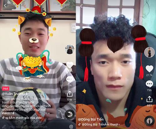 Cầu thủ U23 Việt Nam hào hứng với mạng xã hội video ngắn