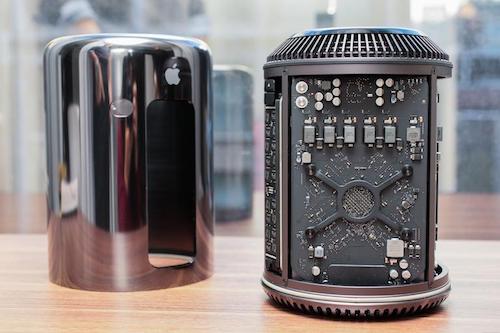Mac Pro thế hệ hiện nay.