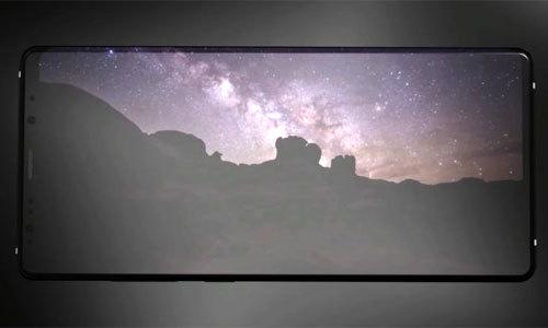 Ý tưởng Galaxy Note 9 màn hình tràn viền