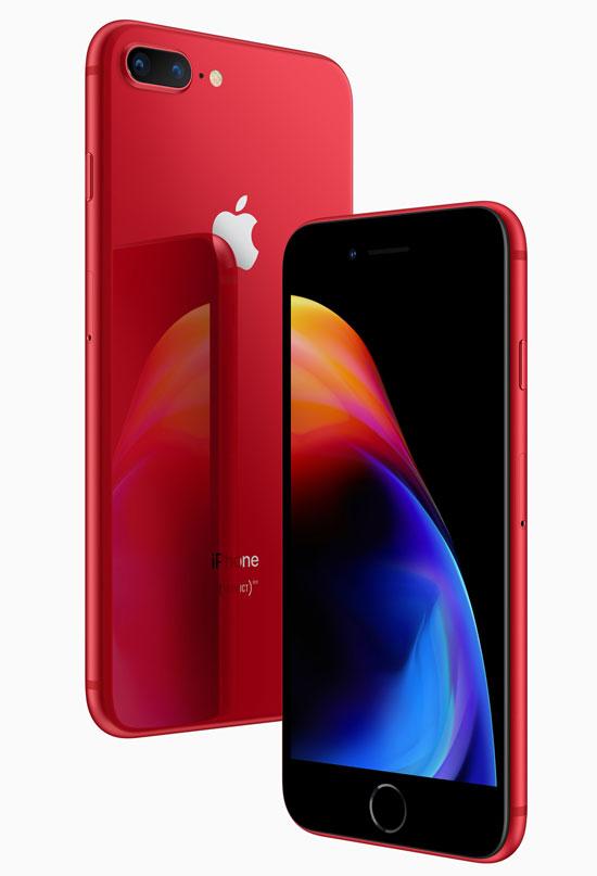 iPhone 8 và 8 Plus màu đỏ trình làng