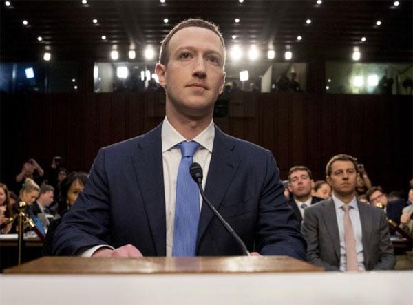 phiên điều trần của Mark Zuckerberg trước Thượng viện Mỹ sáng 11/4.