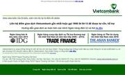 Trang web Vietcombank xuất hiện thơ chế