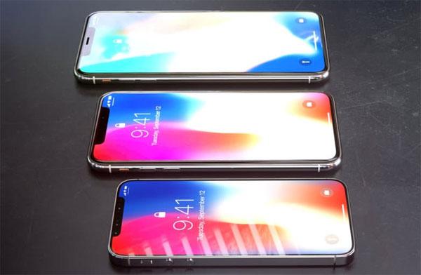 Màn hình iPhone X mới được sản xuất sớm một tháng
