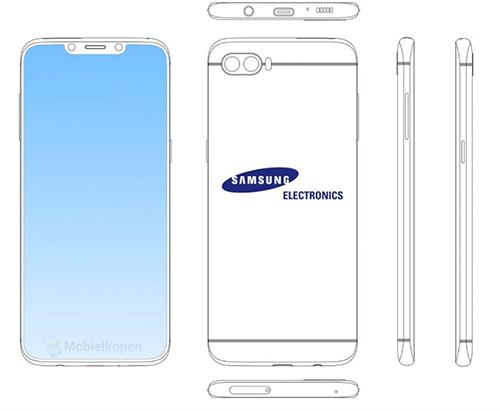 Sáng chế smartphone mới Samsung vừa đăng ký.