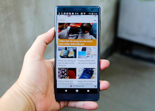 Xperia XZ2 - bản nâng đắt tiền từ hãng điện tử Nhật Bản